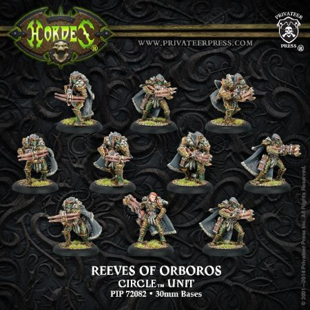 Circle Orboros Reeves/Wolves Unit (10)
